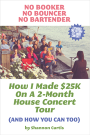 Shannon Curtis house concert book